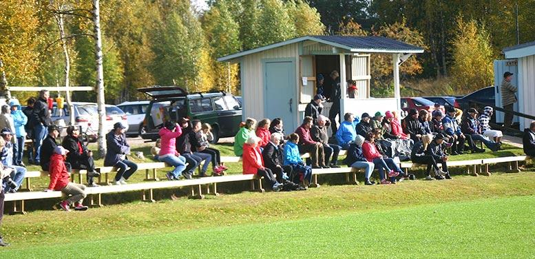 Lillhärdal har bästa publiksnittet i div. 5, 110 personer per match brukar komma.